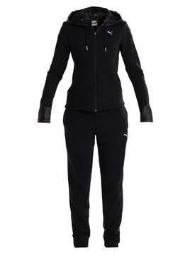 Puma GRAPHIC SWEAT SUIT Dres black