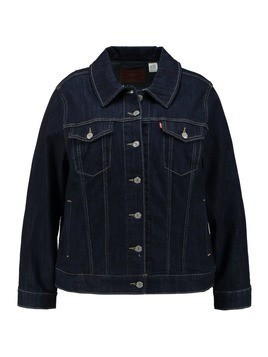 Levi's® Plus PL ORIGINAL TRUCKER Kurtka jeansowa even rinse