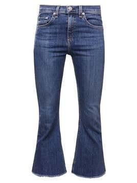 rag & bone Jeansy Dzwony blue denim