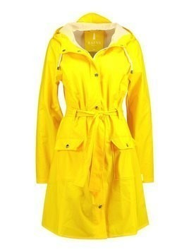 Rains CURVE JACKET Parka yellow