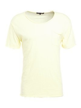 DRYKORN TEO Tshirt basic light yellow