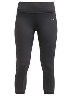 Nike Performance EPIC LUX  Legginsy black/reflective silver