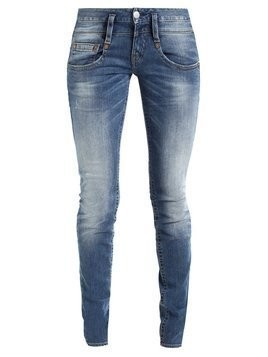 Herrlicher PITCH SLIM Jeansy Slim Fit mid destroy