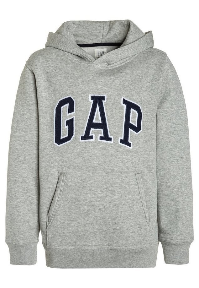 GAP ARCH Bluza z kapturem light heather grey