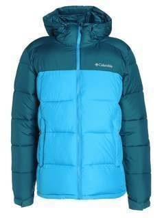 Columbia PIKE LAKE HOODED Kurtka zimowa phoenix blue/dark compass