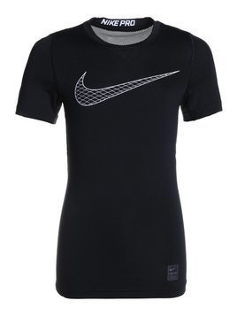 Nike Performance COMP Tshirt z nadrukiem black/cool grey