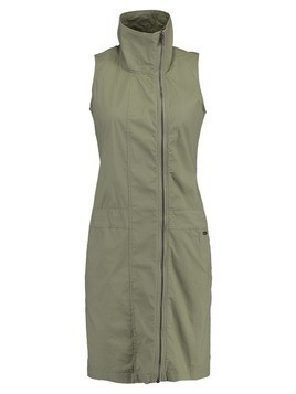 Bench EASY DRESS Sukienka koszulowa khaki