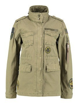 Alpha Industries HUNTINGTON PATCH  Kurtka wiosenna olive