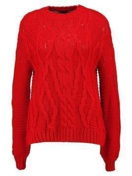 Miss Selfridge Sweter red