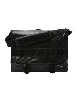 Superdry MERCHANT MESSENGER BAG Torba na ramię black