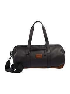Coach METROPOLITAN SOFT GYM BAG Torba sportowa black/mahagony