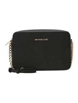 MICHAEL Michael Kors JET SET TRAVEL CROSSBODY Torba na ramię black