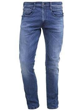 Replay ANBASS Jeansy Slim fit blue denim
