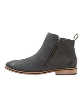 Superdry TRENTON ZIP BOOT Botki carbon black