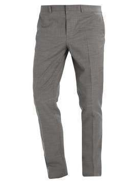 Topman MUSCLE FIT Spodnie garniturowe grey
