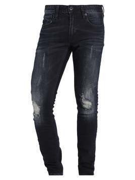Superdry Jeansy Slim Fit chromium blue tear