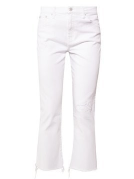 Polo Ralph Lauren TILLY  Jeansy Dzwony white