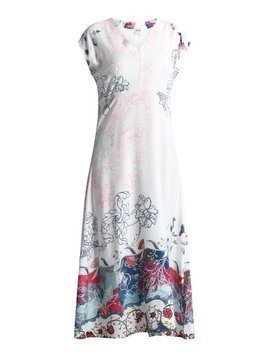 Ivko LONG DRESS FLORAL Długa sukienka offwhite