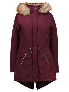 Dorothy Perkins Tall TRIM  Parka Bordeaux