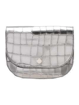 CLOSED BUM Saszetka nerka silver