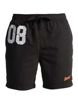 Superdry PREMIUM WATER POLO  Szorty kąpielowe black