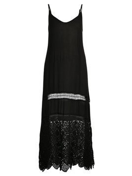 Somedays Lovin SWEPT ACROSS MIDI DRESS Akcesoria plażowe black