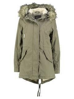 Superdry HEAVY  Parka deepest army
