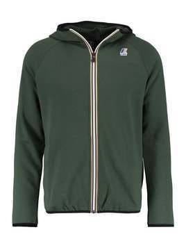KWay LE VRAI REGULAR FIT Bluza rozpinana green dark