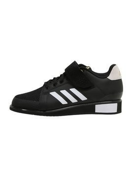 adidas Performance POWER PERFECT III Obuwie treningowe black/white/gold