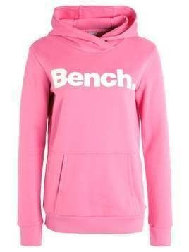 Bench CORP PRINT  Bluza z kapturem chateau rose