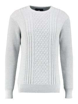 GStar AFFNI CABLE R KNIT L/S Sweter grey heather