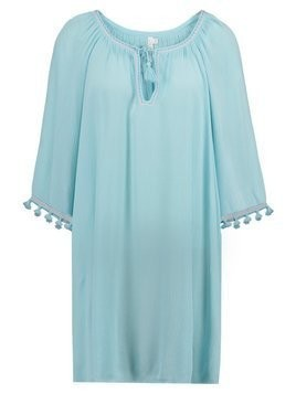 Seafolly MODERN LOVE TASSEL COVER UP Akcesoria plażowe beach blue