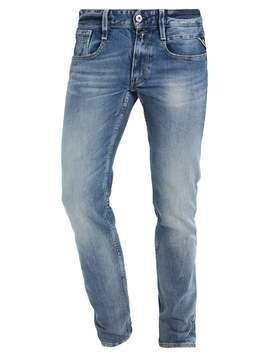 Replay ANBASS Jeansy Slim Fit blue