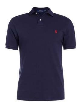 Polo Ralph Lauren SLIM FIT Koszulka polo aviator navy