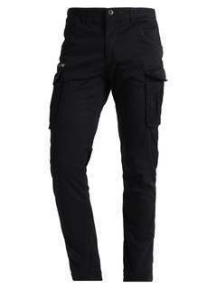 Jack & Jones JJIPAUL JJCHOP Bojówki black