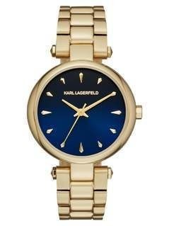 KARL LAGERFELD AURELIE Zegarek goldcoloured