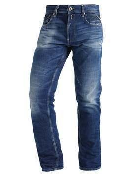 Replay GROVER Jeansy Straight leg destroyed denim