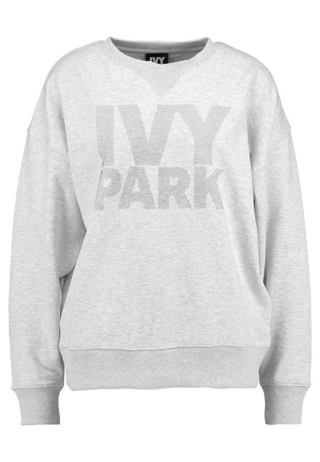 Ivy Park DOTS LOGO CREW Bluza light grey marl