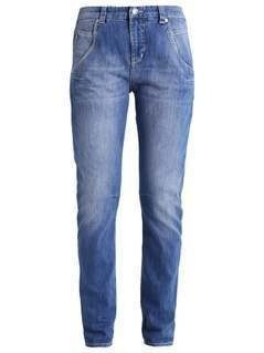 MAC LAXY Jeansy Relaxed fit mid blue washed