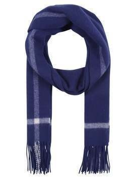 J.CREW SCARF WITH BORDER Szal navy/ivory