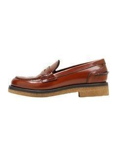 CLOSED LOAFER Półbuty wsuwane caramel