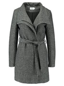 ONLY ELLI LIGHT COAT Krótki płaszcz dark grey melange