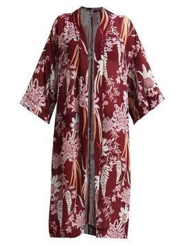 Free People IF YOU SAY SO KIMONO Szlafrok purple