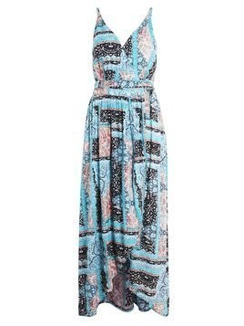 Seafolly MOROCCAN MOON WRAP DRESS Akcesoria plażowe atlantic