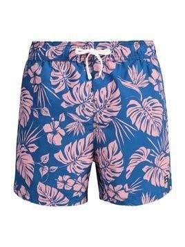 Billabong ALL DAY FLORAL  Szorty kąpielowe harbor blue
