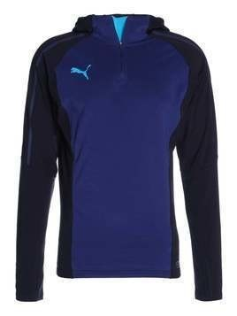 Puma EVOTRG Bluza z polaru new navy/blue depths/atomic blue
