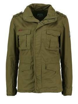 Superdry ROOKIE Kurtka wiosenna duty green