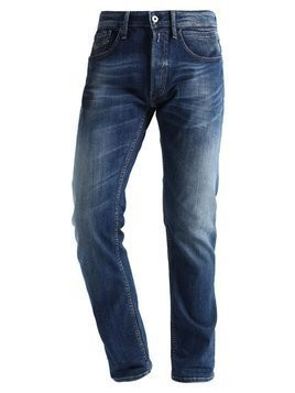 Replay NEWBILL Jeansy Straight leg blue denim