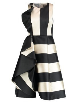Coast KEMMY STRIPE RUFFLE FRILL DRESS Sukienka koktajlowa mono