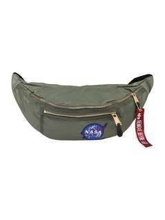 Alpha Industries SURVIVAL BAG NASA Saszetka nerka sage green